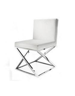 Chaise inox