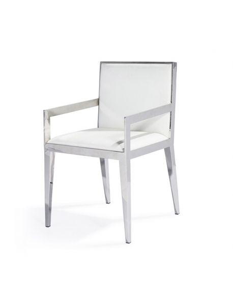 Chaise en Inox CALYCE AAC