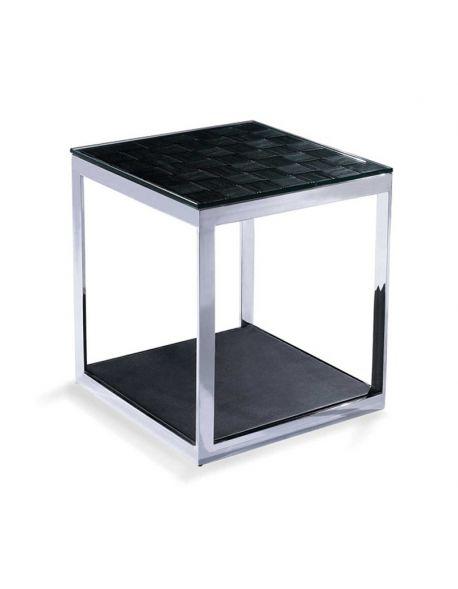 Petite Table Simili Cuir