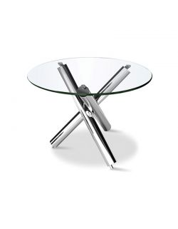 Table Ronde Pied Inox ABAS ST