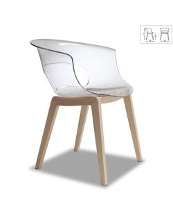 Chaise Design NATURAL MISS 2800 FN 100