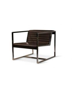Fauteuil design marron