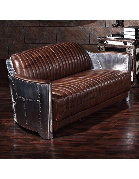 Canapé Vintage 2 places K601-2S