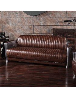 Canapé 3p vintage - Turi