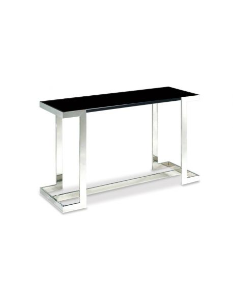 Table console design noir