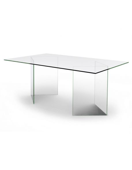 Table-Bureau Transparent BAHIA