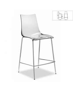 Chaise de Bar ZEBRA 2545 100