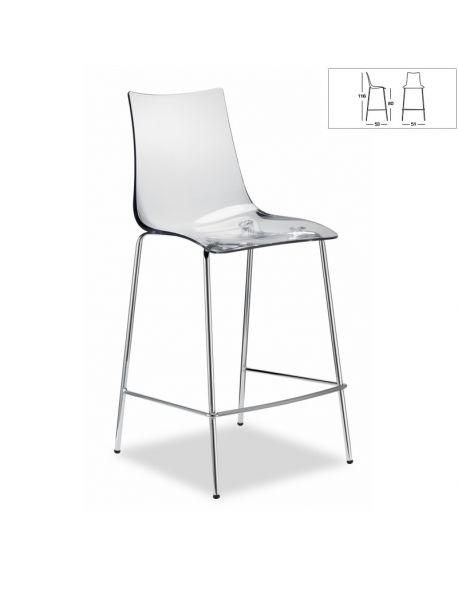 Chaise de Bar ZEBRA 2545 100