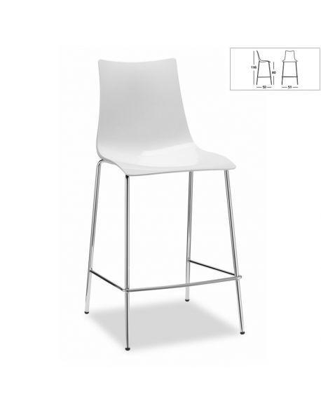 Chaise de Bar ZEBRA 2546 310