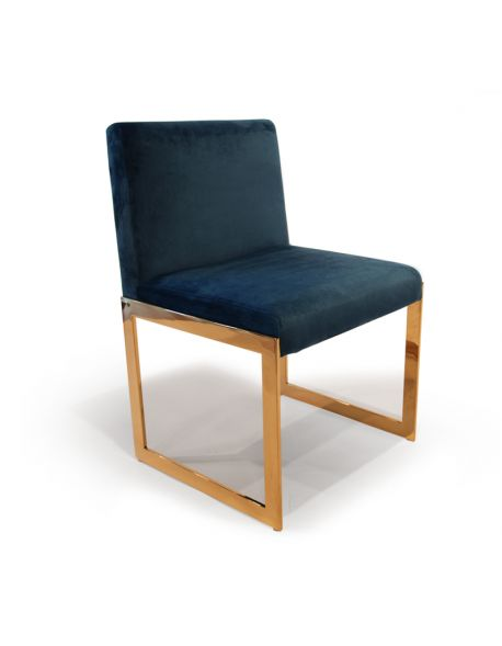 Chaise Velours CAPYLOS DO V