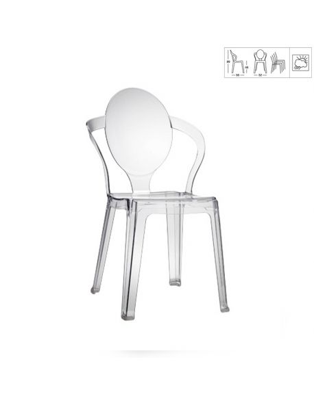 Chaise Design SPOON 2332 100
